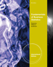 Cover of David Anderson: Fundamentals of Business Statistics