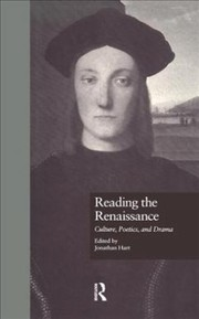 Cover of Reading the Renaissance
