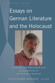 Cover of Essays on German Literature and the Holocaust