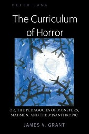 Cover of Curriculum of Horror