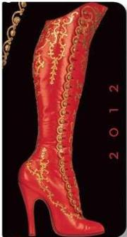 Obálka Paperblanks: 2012 High Button Boot Slim
