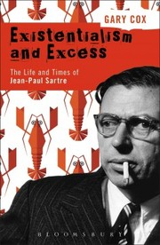 Cover of Gary Cox: Existentialism and Excess