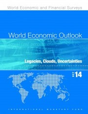 Cover of World Economic Outlook, October 2014: Legacies, Clouds, Uncertainties