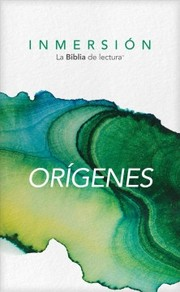 Cover of Inmersion: Origenes