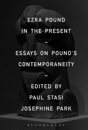 Cover of Ezra Pound in the Present