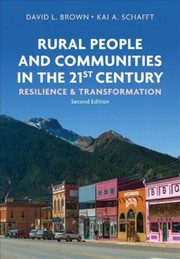 Cover of Brown David L. Brown, Schafft Kai A.  Schafft: Rural People and Communities in the 21st Century