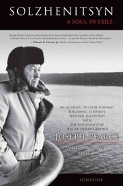Cover of Joseph Pearce: Solzhenitsyn