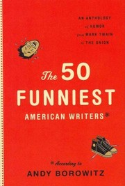 Cover of Andy Borowitz (EDT): The 50 Funniest American Writers