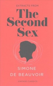 Cover of Simone de Beauvoir: Second Sex (Vintage Feminism Short Edition)