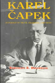 Cover of B. R. Bradbrook: Karel Capek