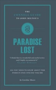 "Cover of Connell Guide to John Milton's ""Paradise Lost"""