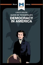 Cover of Elizabeth Morrow: Analysis of Alexis de Tocqueville's Democracy in America