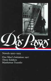 Cover of John Dos Passos, Townsend Ludington (EDT): Novels, 1920-1925