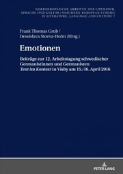 Cover of Emotionen