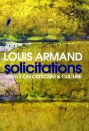 Cover of Louis Armand: Solicitations